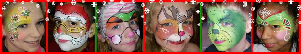 Face Painting Gallery Images